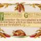 Free vintage Thanksgiving post cards: Harvest Thanksgiving greetings