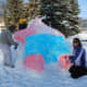 Ice Sculpture-Smokey Bear Park