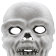 Three-dimensional skull mask
