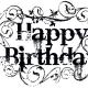 Tattoo happy birthday clip art