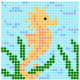 seahorse fuse bead pattern