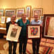 ALEX GOCKEL, MARY, AND I WITH OUR PURCHASES AT THE GAYLORD PALMS HOTEL LAND AUCTION. KISSIMMII, FL, DEC 2011