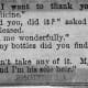 Humour on the dangers of 19th century medicine