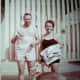 My parents and German Shephard Sheba