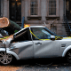 Your fancy cars won't be save from vicious hurricanes like Sandy.