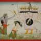 Rama and Lakshmi battle Ravana,1840