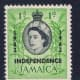 This is an example of a stamp that has been overprinted for a special occasion.