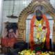 The main idol in the shrine - Shirdi Sai Baba.