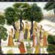 Gopis searching for Krishna, Bhagavata Purana, 1780AD