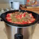 If you'd prefer to do this in the crockpot, that's just fine as well. I use mine to cook an extra recipe of pasta sauce while my full pot is cooking.