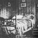 Abraham Lincoln's deathbed