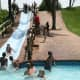 The water slide, source of so much fun