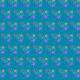 Small starburst scrapbook paper design -- teal background