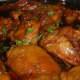 Shoyu Chicken (evolved from Japanese teriyaki using Hawaii Aloha soy sauce)