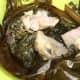 Lau Lau (pork, butter fish and taro leaves)