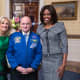 Dr. Jill Biden, Astronaut Scott Kelly set to spend a year on the ISS, and Michelle Obama; January 20, 2015 at the State of the Union Address.