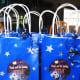 Themed bags are a great way for guests to hang onto their party favors.