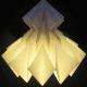 Origami lamp by Jaycie Y on Etsy