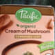 I am using Pacific organic cream of mushroom soup for my cube steaks but any condensed cream of mushroom soup will work.