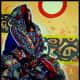 The Sana'ani Sitarah with its other accessories in arts in Yemen - Artist Aaminah Al-Nusairi