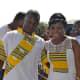 Venda bride and bridegroom, South Africa