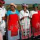 Modern Xhosa women attending a traditional function