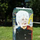 Mini Mural features Ann Richards by artist Tra Slaughter