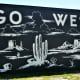 Go West Wall