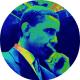 Barack Obama clipart -- thinking