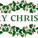 """Merry Christmas"" clip art."