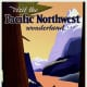 Visit the Pacific Northwest vintage travel poster