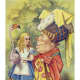 """""""Alice With the Duchess"""" by John Tenniel"""