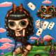 """Kawaii Noir Alice in Wonderland"" by Blonde Blythe (2006)"