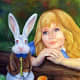 """""""Alice Sees the White Rabbit"""" by Chad Thomas"""
