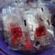 Specimen bags for treat holders