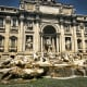 Trevi Fountain, Rome; opened in 1762
