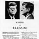 Handbill circulated on November 21, 1963, one day before the assassination of John F. Kennedy.