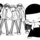 Again, Sunako with the gang.