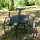 Horse-drawn corn chopper