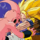 Son Goku landed a strong punch