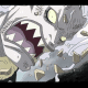 Hody heavily damaged after taking Luffy's attack