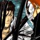 Aizen and Ichigo's swords meet
