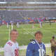 My hustand and son enjoying their first NFL experience!