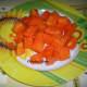 Ripe Papaya Chunks