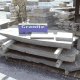 f. Paving Slab Smorgasbord: Variety of materials, sizes, shapes, colors, & textures.