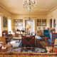 Living room by Frances Adler Elkins