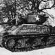 The main American battle tank the M-4 Sherman medium tank not a match for the German Tiger tank. American leaders based their hopes of overwhelming the battlefield with their Sherman tanks, over 50,000 had been produced by the end of 1944.