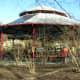 This carousel use to be on the National Mall but is now at the Smithsonian National Zoo.  March 2019.