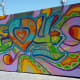 Closeup of Mural by GONZO247