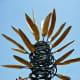 Top of James Surls Sculpture